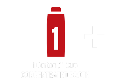 1 Carton/Cup Concentrated Broth