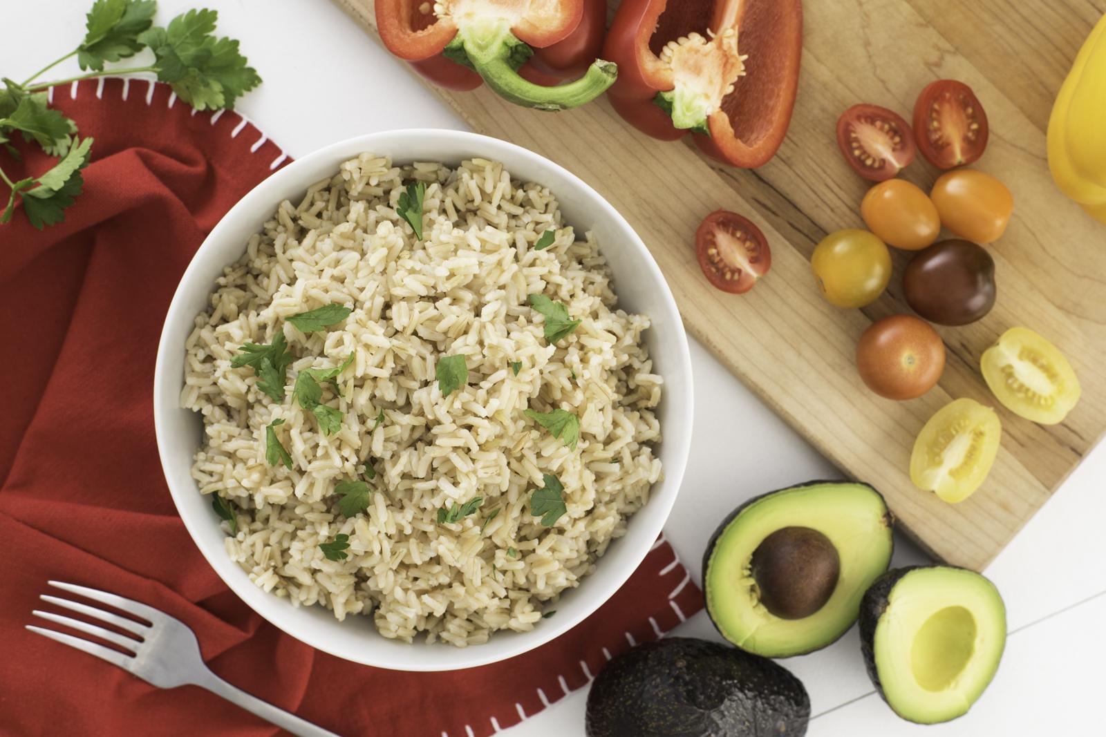 Brown Rice Campbells Less Sodium Chicken Broth
